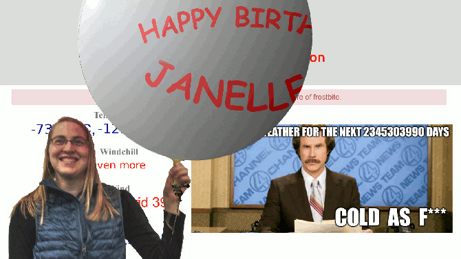 Happy Birthday Janelle