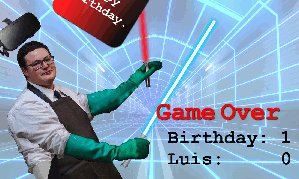 Happy Birthday Luis