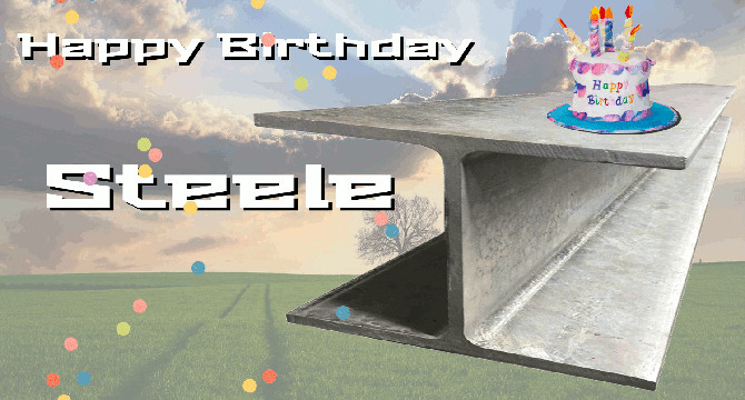 Happy Birthday Steele
